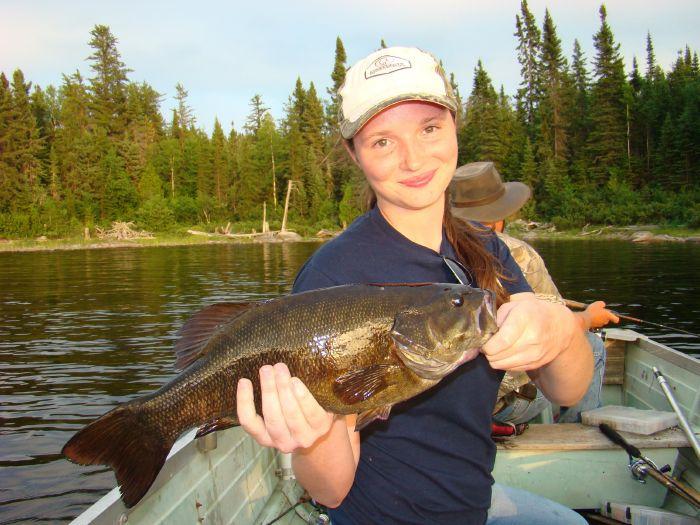 mid day smallmouth bass fishing